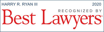 Harry R. Ryan III - Recognized by Best Lawyers, 2020 badge