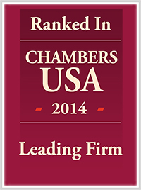 Ranked In Chambers USA 2016