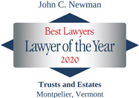 John C. Newman - Best Lawyer of the Year - 2020